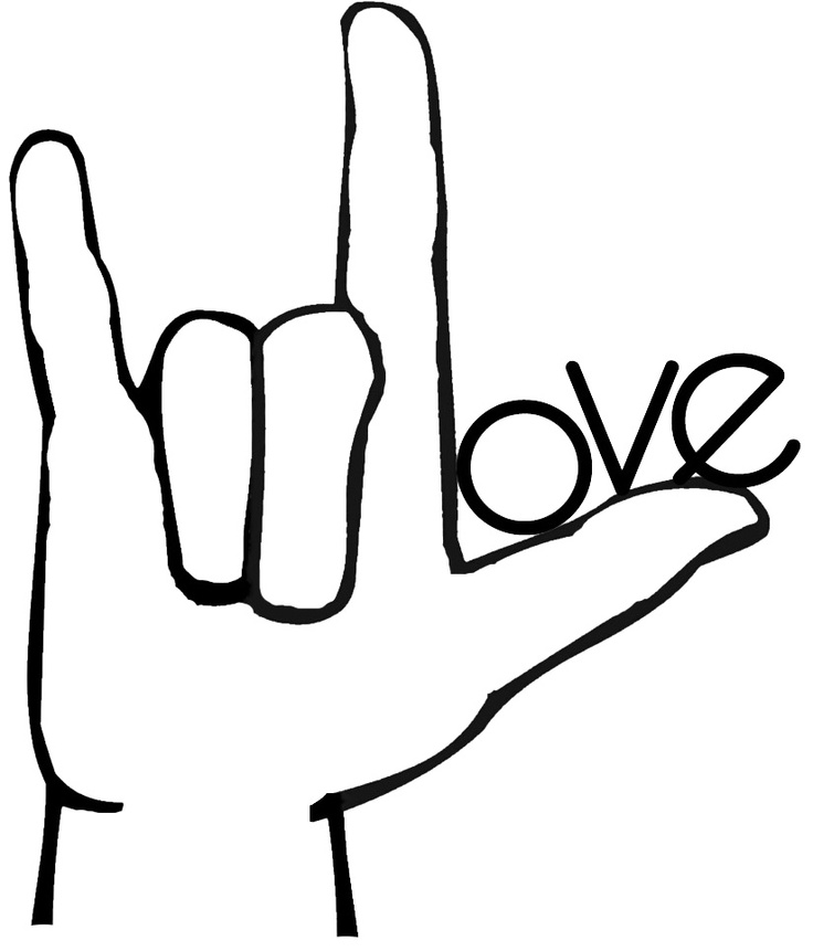 American sign language clip art clip art royalty free Asl Clip Art & Asl Clip Art Clip Art Images - ClipartALL.com clip art royalty free
