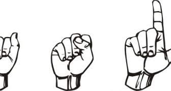 American sign language clip art. Clipartfest asl