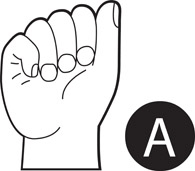 Free American Sign Language Clipart - Clip Art Pictures - Graphics ... png