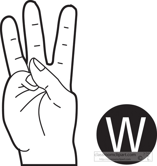 American sign language clipart banner download Free American Sign Language Clipart - Clip Art Pictures - Graphics ... banner download