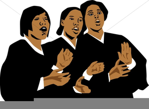American singing clipart image freeuse stock African American Choir Singing Clipart | Free Images at Clker.com ... image freeuse stock