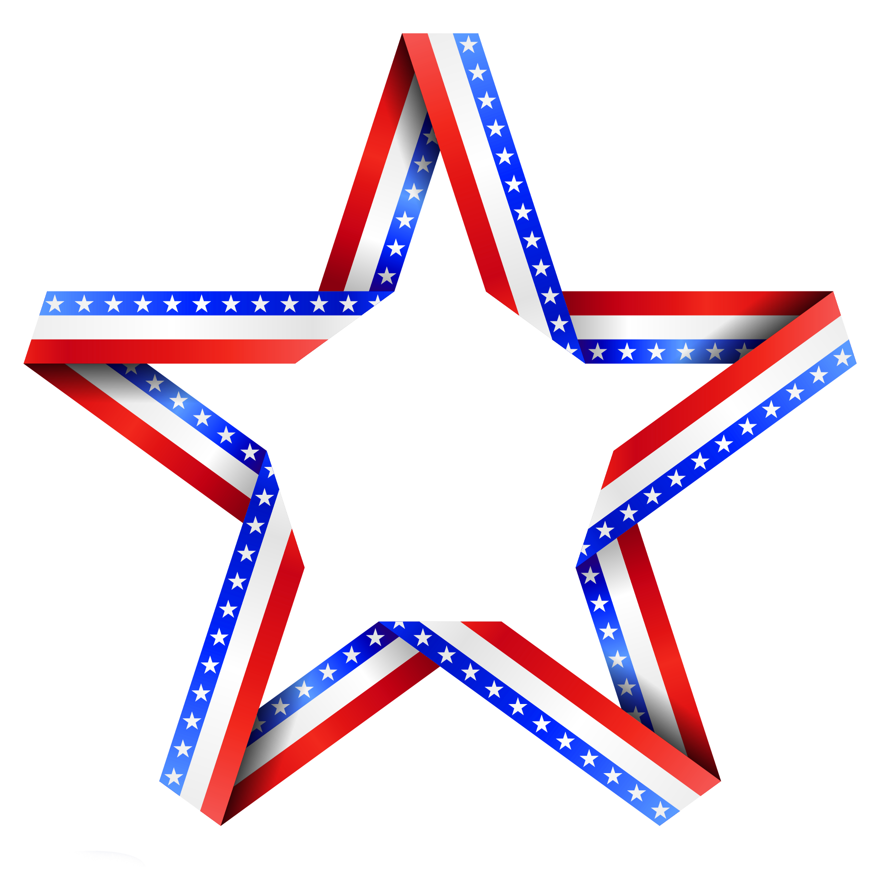 Star clipart transparent background transparent stock American Star Clipart transparent stock