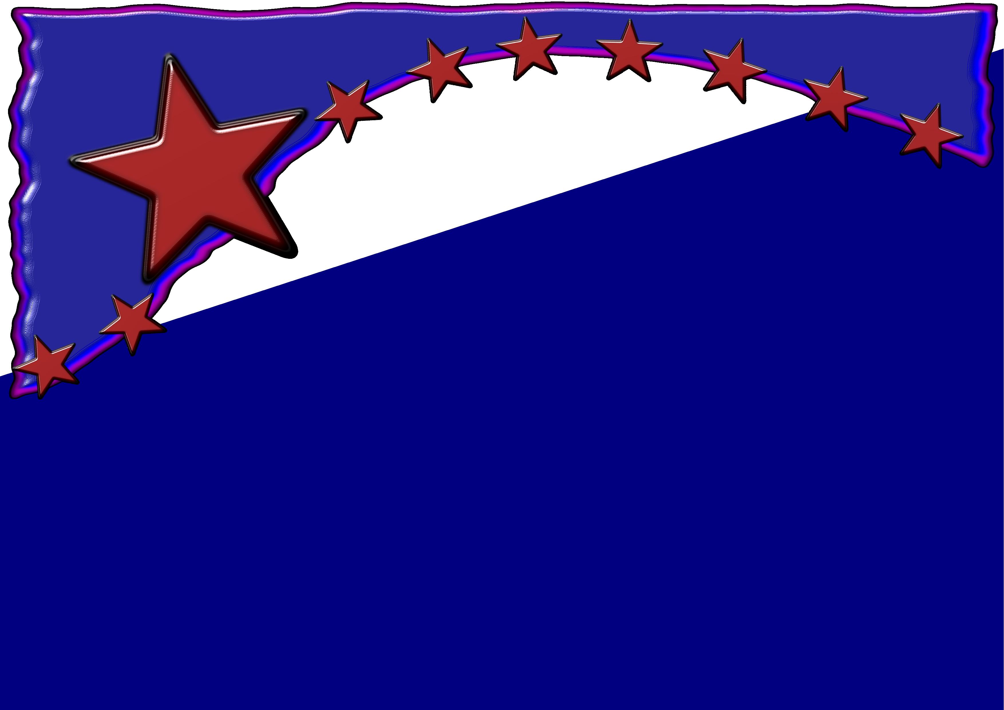 American stars border clipart picture black and white stock Free Flag Border Cliparts, Download Free Clip Art, Free Clip Art on ... picture black and white stock