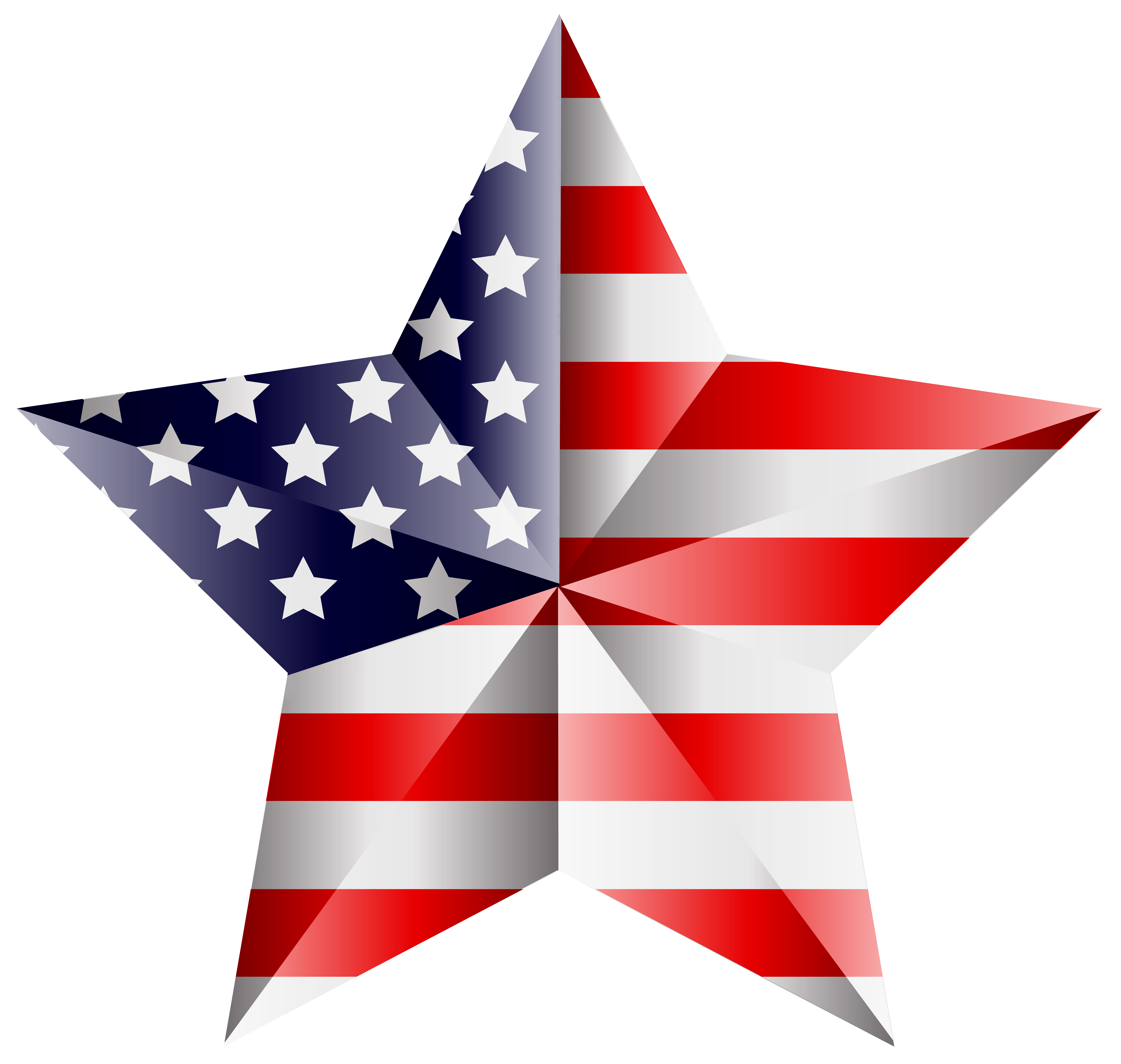 American transparent clipart png transparent stock American Star Transparent PNG Clip Art Image | Gallery Yopriceville ... png transparent stock