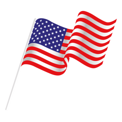 Americn flag on long pole clipart with transparent background graphic freeuse download Download AMERICAN FLAG Free PNG transparent image and clipart graphic freeuse download