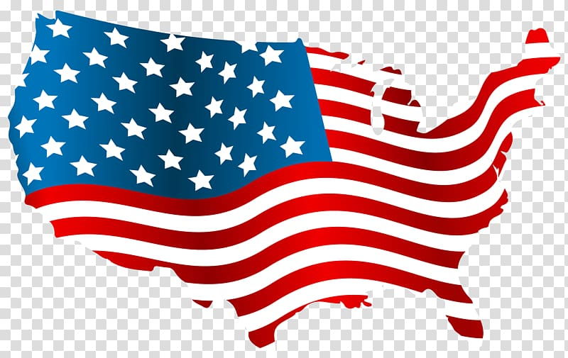 American transparent clipart clipart library Flag of the United States , America transparent background PNG ... clipart library