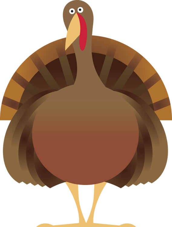Turkey body part clipart picture royalty free library Free Turkey Clipart picture royalty free library