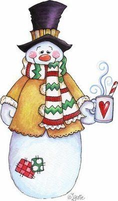 Americana snowman clipart svg royalty free 272 Best Art - Snowman images in 2019 | Snowman, Christmas snowman ... svg royalty free