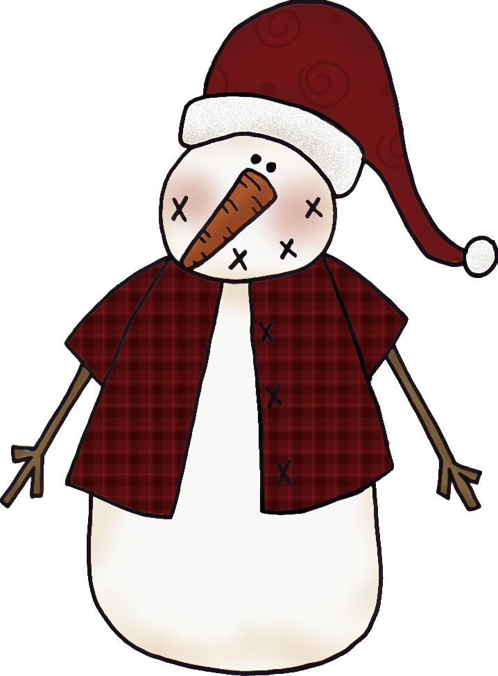 Americana snowman clipart clipart royalty free library Collection of Primitive clipart | Free download best Primitive ... clipart royalty free library
