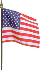 Americn flag on long pole clipart with transparent background clipart black and white Free American Flag Clipart clipart black and white