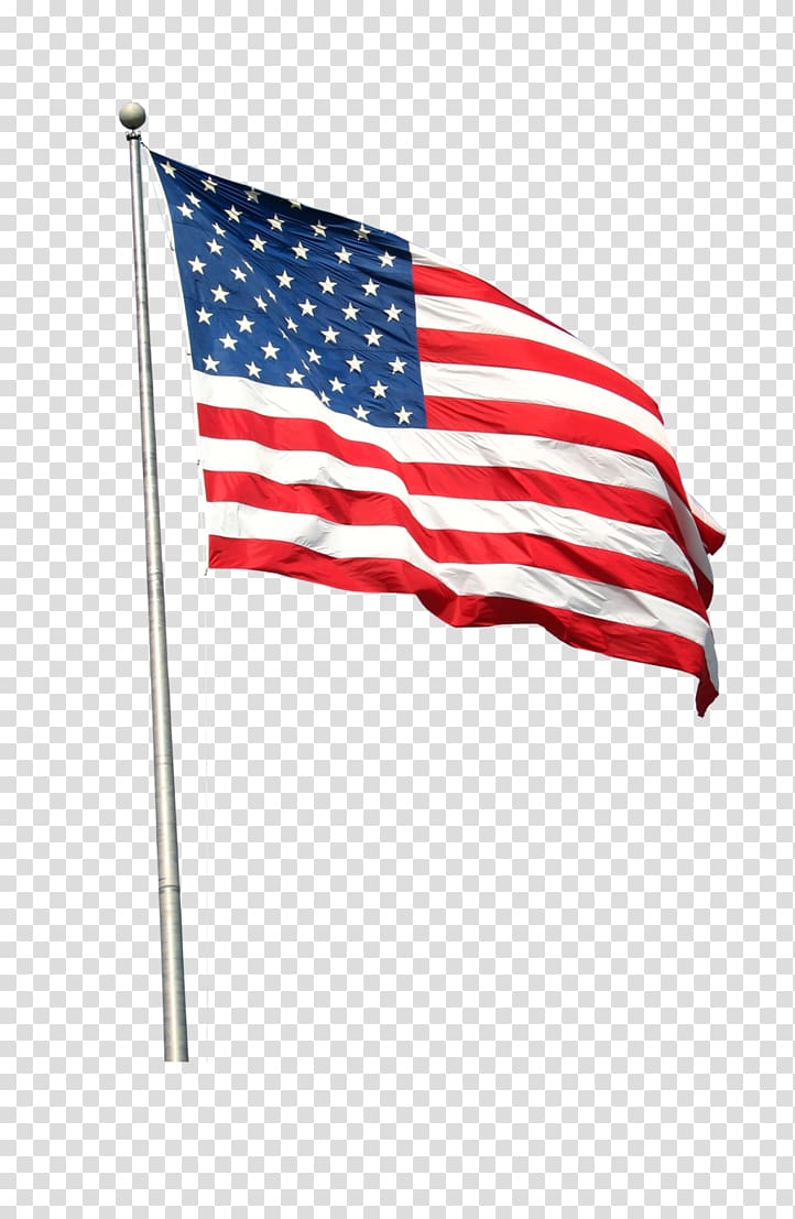 Americn flag on long pole clipart with transparent background banner download Free download | U.S.A. flag, Flag of the United States , American ... banner download