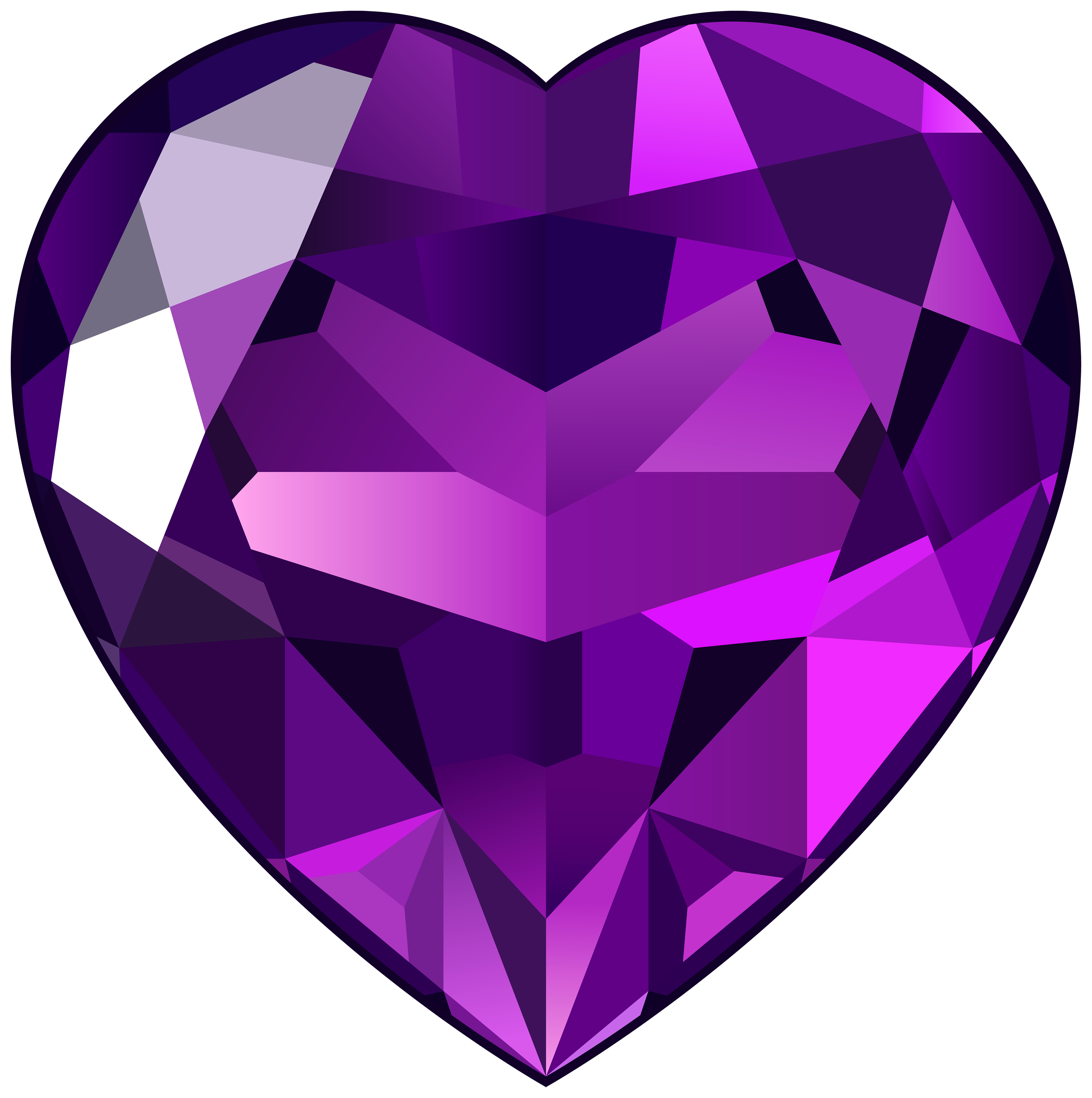 Ametheyst clipart clipart royalty free stock Amethyst Heart PNG Clipart - Best WEB Clipart clipart royalty free stock
