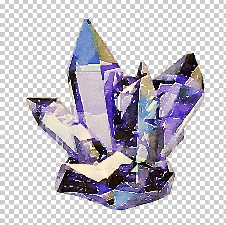 Amethyst crystal clipart picture download Minerals And Crystals Crystal Healing Quartz Metal-coated Crystal ... picture download
