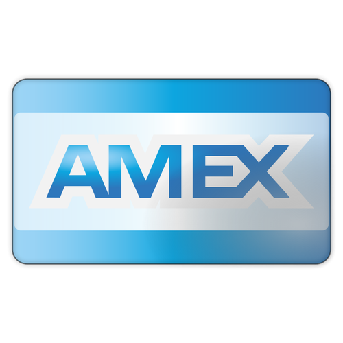 Amex pay clipart transparent library American Express Card Vector | Public domain vectors transparent library