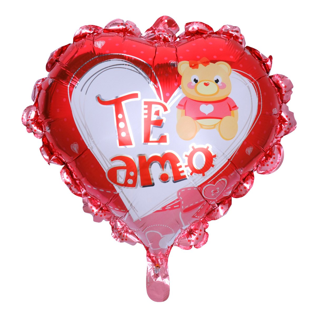 Amo espanol clipart clip transparent 6pcs 24 inch Te Amo Balloons Heart Shape Aluminum Foil Balloons for ... clip transparent