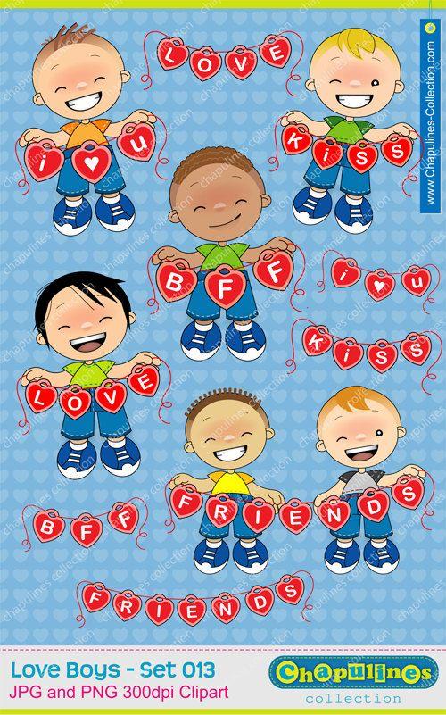 60% desc. Clipart Niños amor, ilustraciones niños felices amistad ... jpg free stock