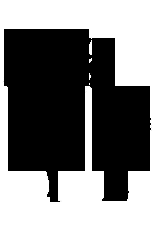 Amor y amistad clipart black and white vector transparent library Pin de Steph\'Cruz Rodriguez en Vinyl desing   Silueta de pareja ... vector transparent library