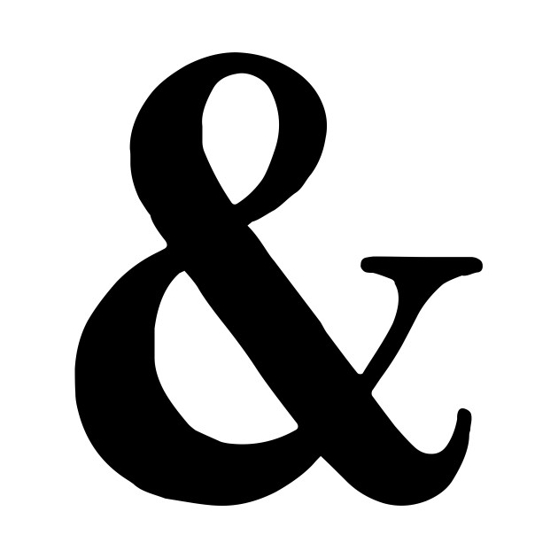 Ampersand clipart with kids clipart royalty free library Ampersand Serif clipart royalty free library