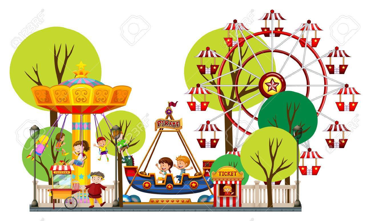 Amusement park clipart images banner freeuse stock Free amusement park clipart 5 » Clipart Portal banner freeuse stock