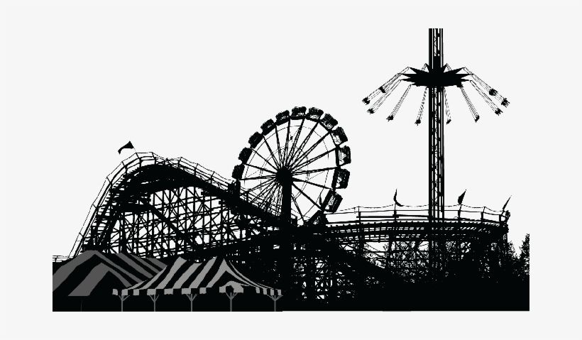 Amusement park clipart silhouette banner free download Banner Freeuse The Arts Image Pbs - Amusement Park Silhouette Png ... banner free download