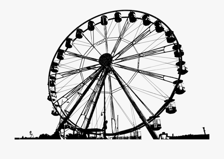 Amusement park lines clipart