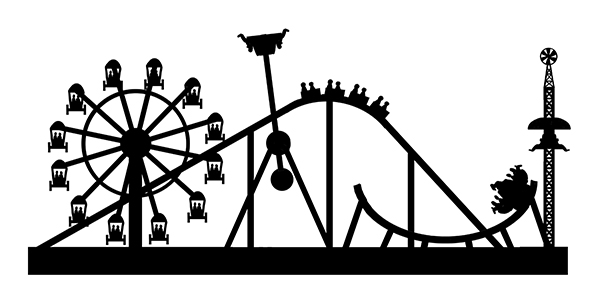 Amusement park signs clipart jpg freeuse library MULTICAM: Cultus Lake Boardwalk signs - part one jpg freeuse library