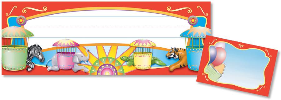 Amusement park signs clipart svg free download North Star Teacher Resources - Amusement Park Seat & Cubby Signs svg free download