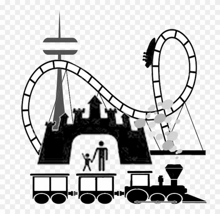 Amusement parks images clipart vector library Amusement Park Clip Art - Theme Parks Clip Art - Png Download ... vector library