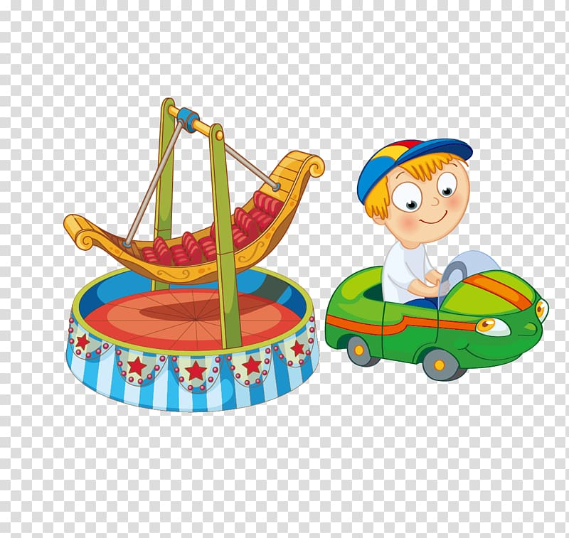 Amusement ride car clipart