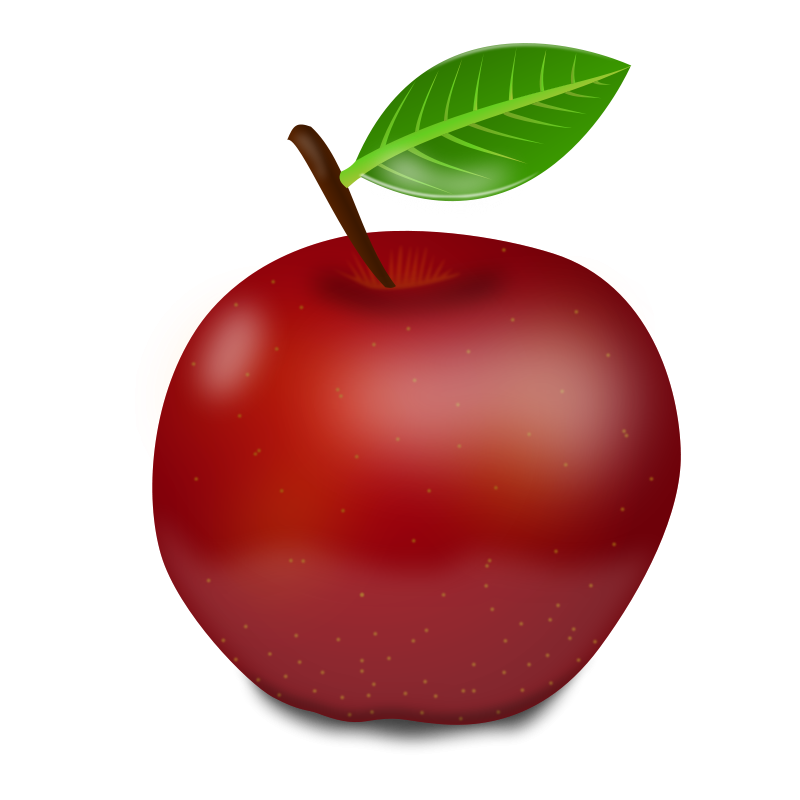 Apple clipart images free svg freeuse red apple clipart - Free Large Images | Clipart | Pinterest | Red ... svg freeuse