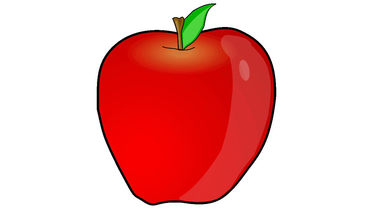 Apple clipart images free svg royalty free library 14 Apple Fruit Free Clipart - Fruit Names A-Z With Pictures svg royalty free library