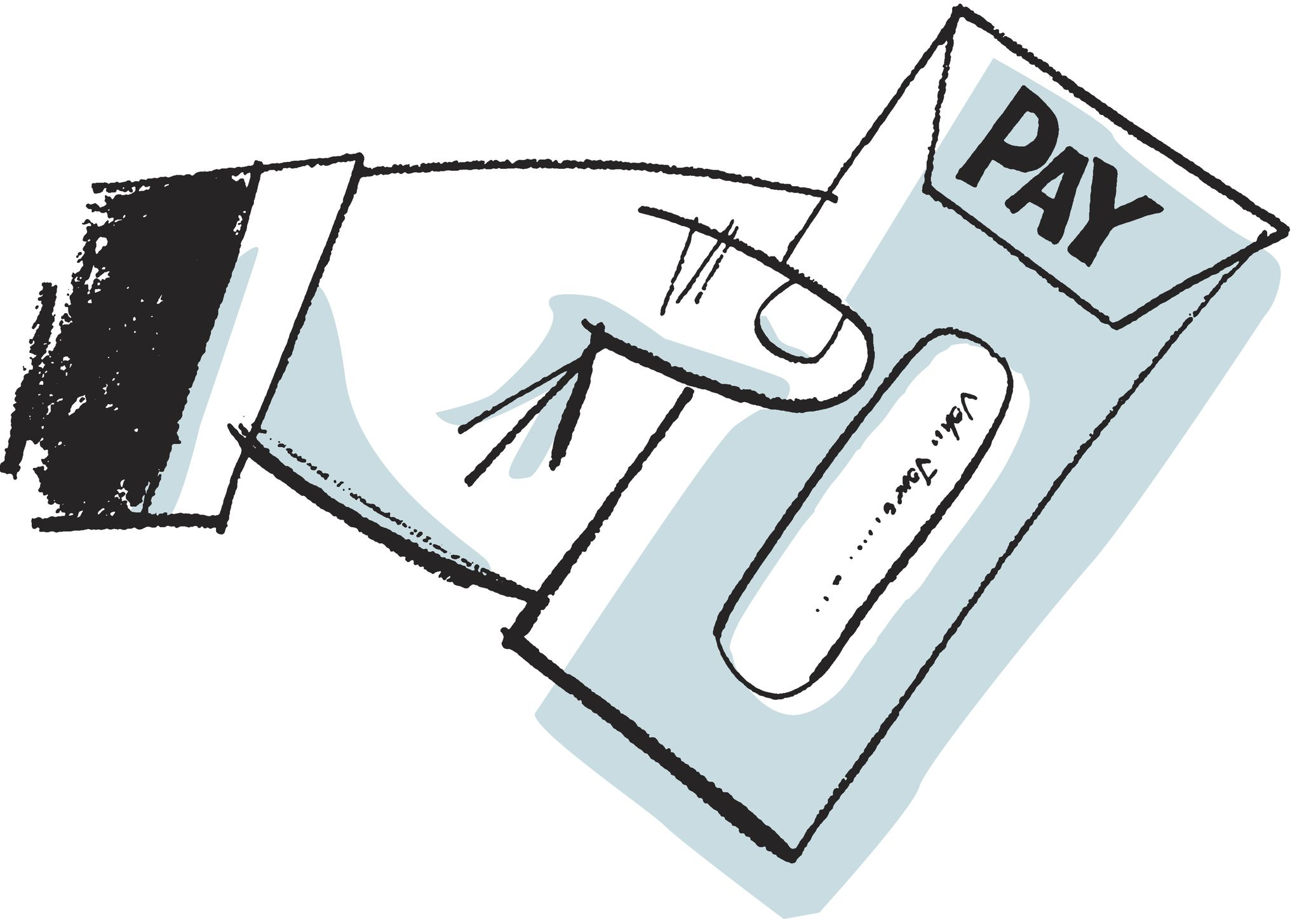 An holding paycheck clipart clipart free download How an Employee\'s Pay Stub Is Created and Used clipart free download