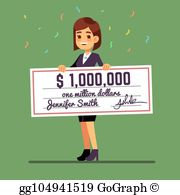 An holding paycheck clipart picture transparent stock Paycheck Clip Art - Royalty Free - GoGraph picture transparent stock