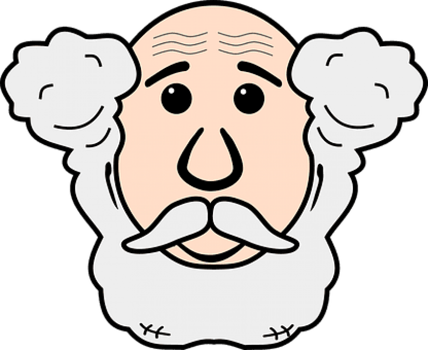 An old man face clipart image royalty free stock Download Face Grandfather Grandpa Human Man Old Old - Old Man Face ... image royalty free stock
