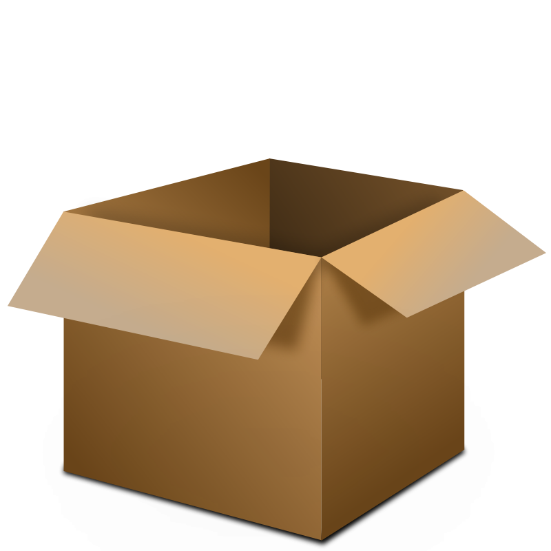 An open box clipart image library library Free Clipart: Open Box | piercolone image library library