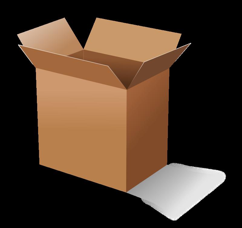 An open box clipart clip freeuse 75+ Open Box Clipart | ClipartLook clip freeuse