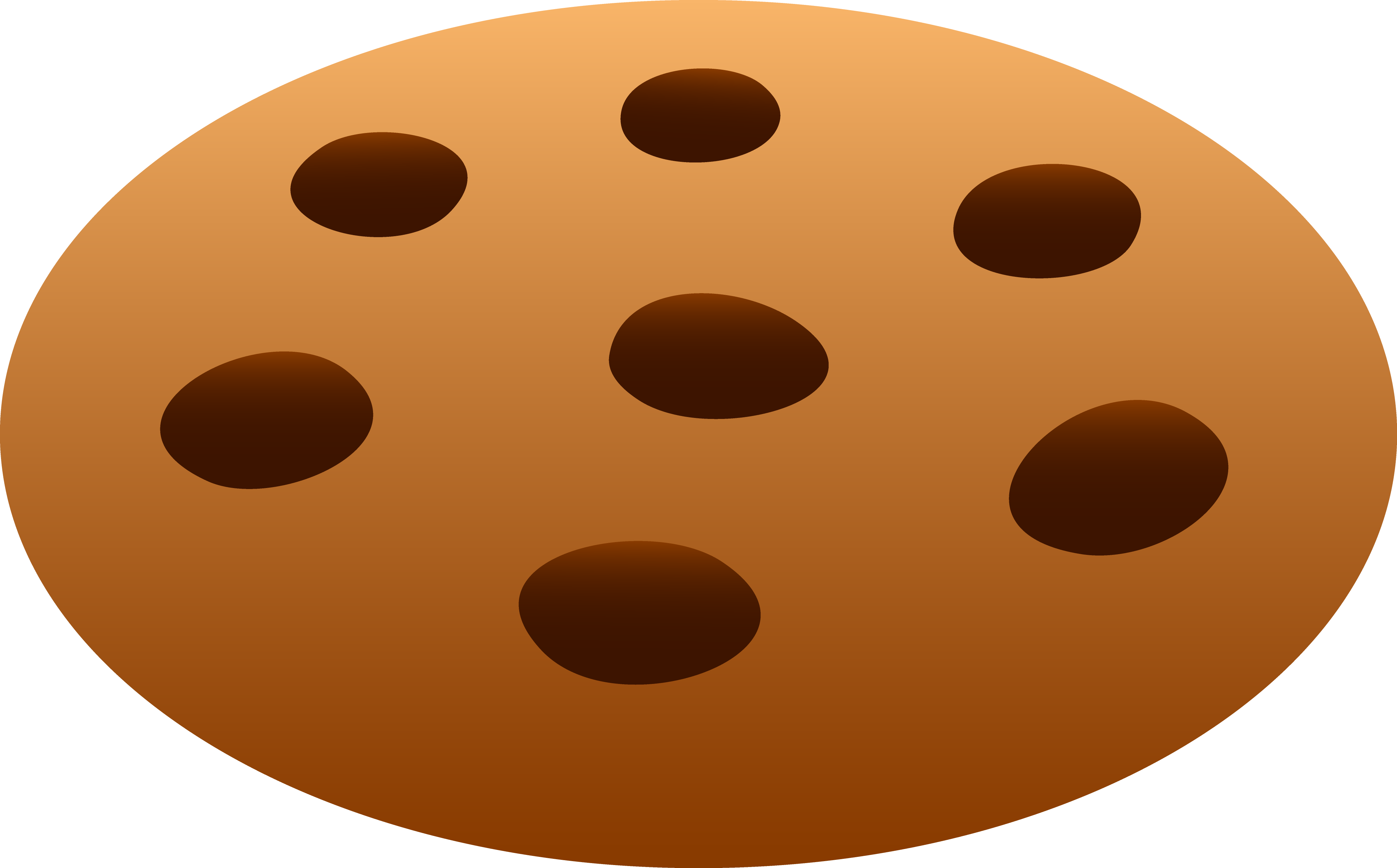 An orange cookie clipart clipart download Best Chocolate Chip Cookie Clipart #15856 - Clipartion.com clipart download