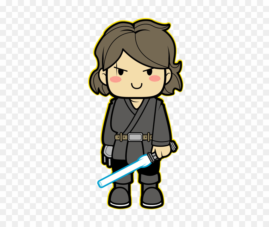 Anakin skywalker clipart clip black and white Draw Anakin Skywalker Cartoon PNG Darth Vader Luke Skywalker Clipart ... clip black and white