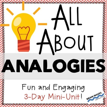 Analogies clipart picture freeuse download Analogy Worksheets & Teaching Resources | Teachers Pay Teachers picture freeuse download