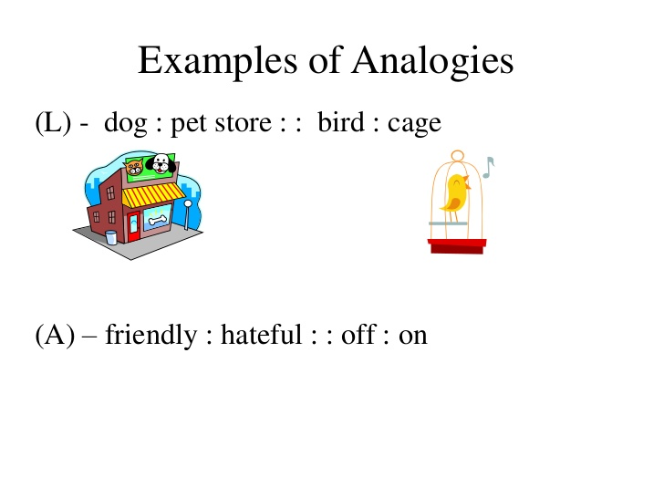 Analogy examples svg royalty free stock Analogies notes svg royalty free stock