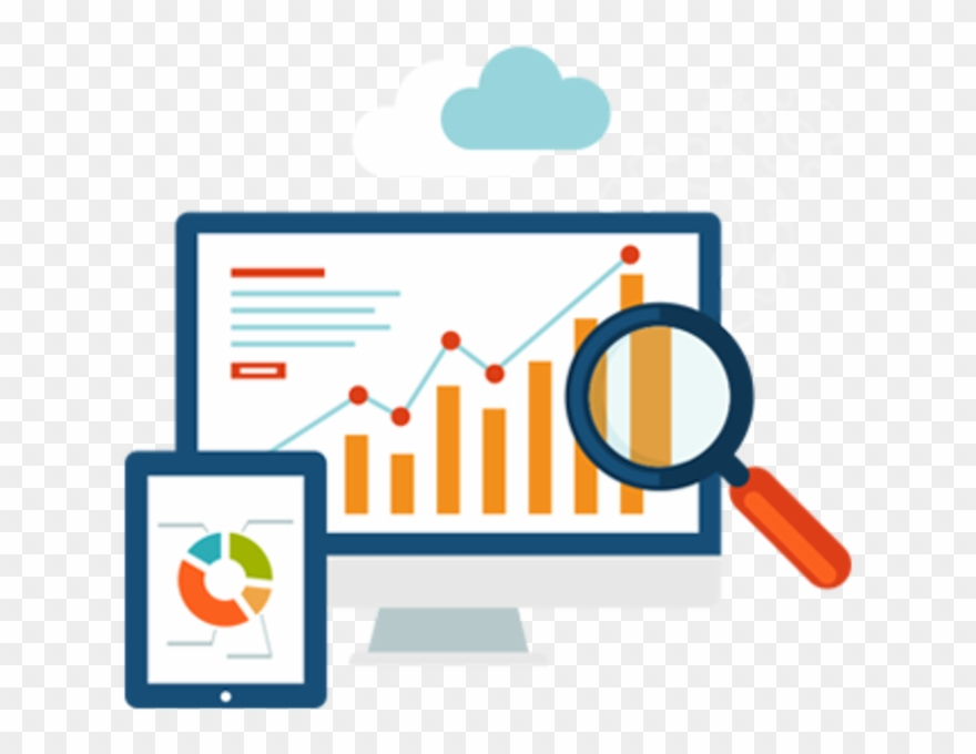 Analytics icon clipart vector library Using Analytics For Your Website - Analytics Dashboard Icon Clipart ... vector library