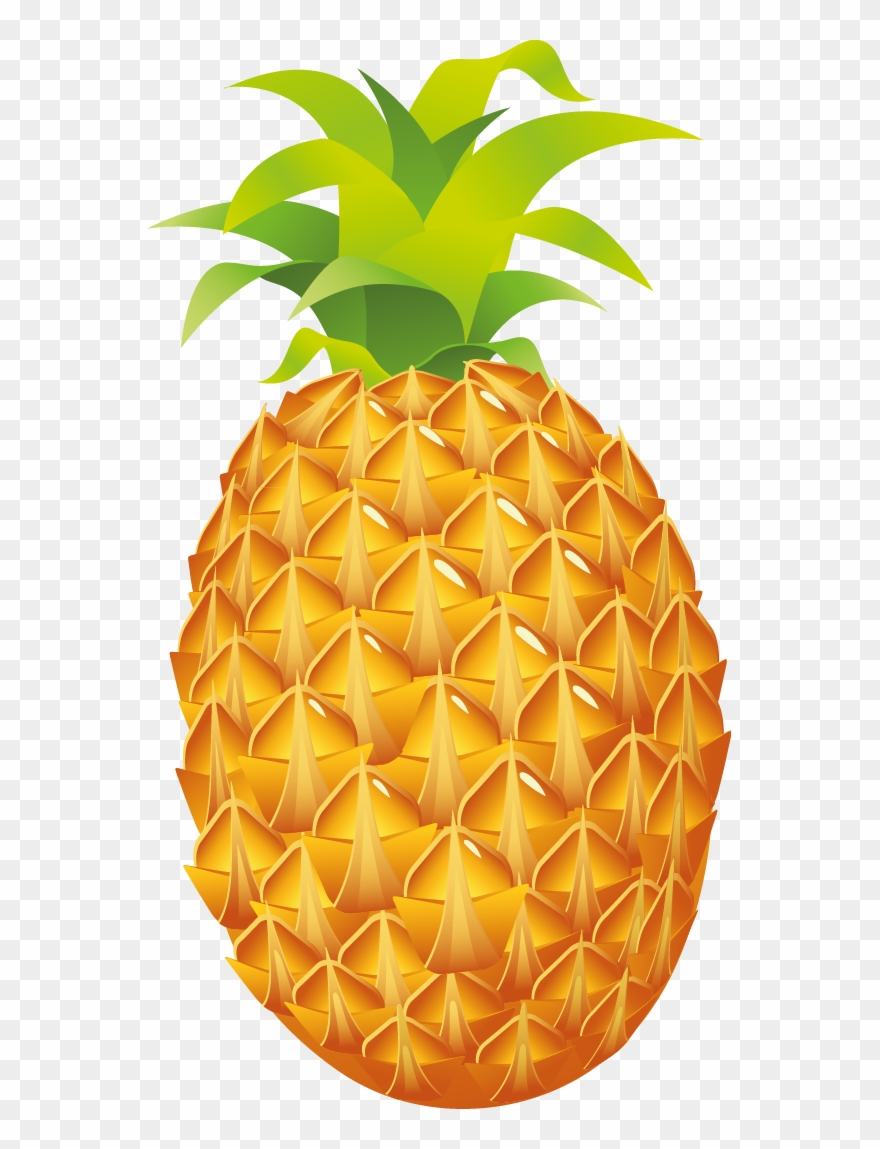 Pinaeapple clipart image free stock Pineapple Cliparts - Pineapple Clipart Png Transparent Png (#297632 ... image free stock