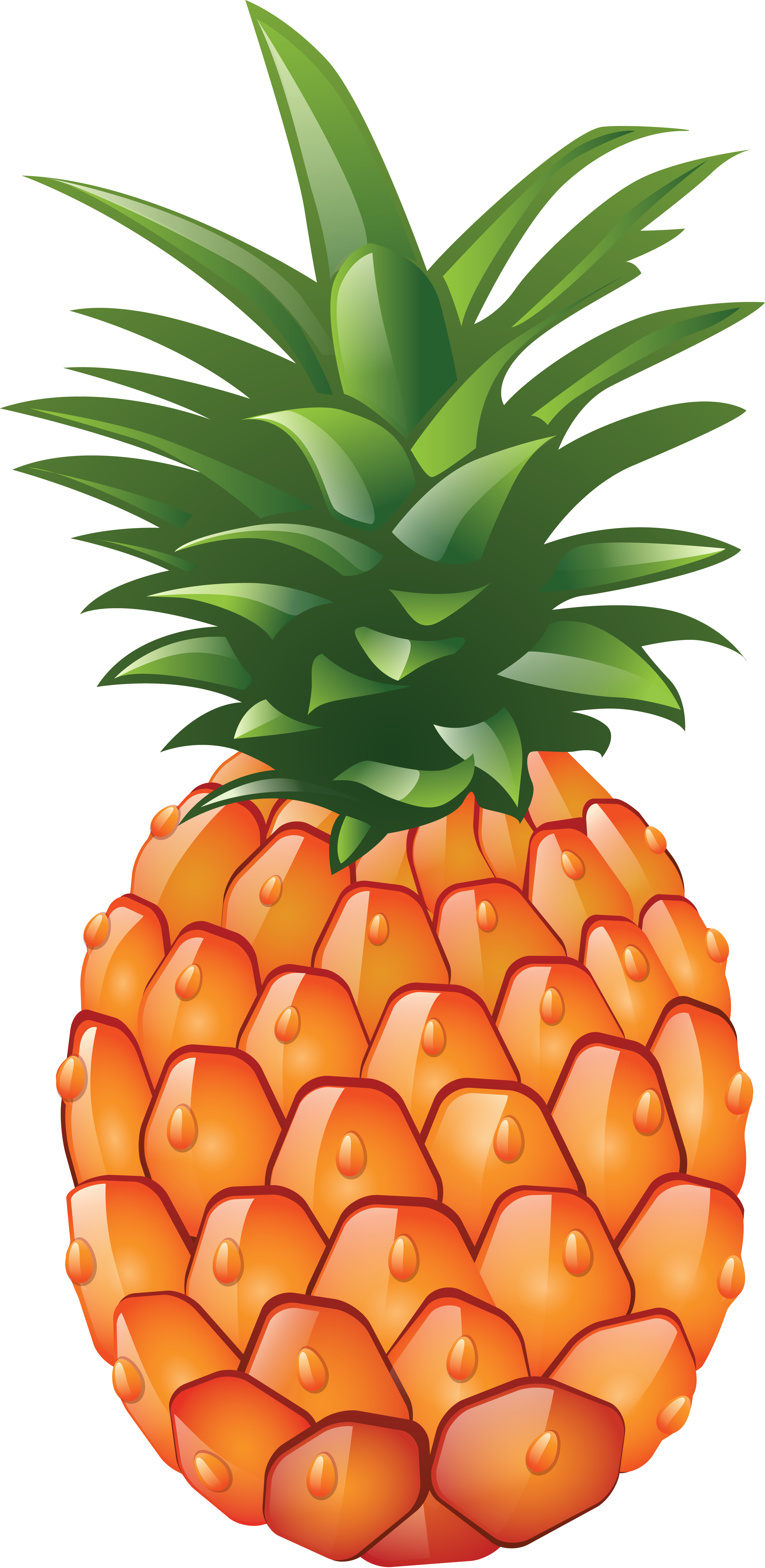 Ananas clipart png clip art royalty free library Pin by ☆ Agatka ☆ on cliparts ... | Hawaiian party decorations ... clip art royalty free library