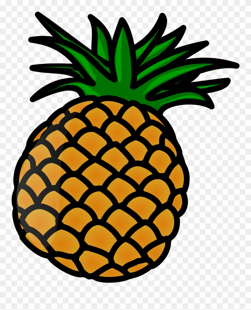 Ananas clipart png banner freeuse Pineapple Clip Art - Clipart Pineapple - Png Download (#3976 ... banner freeuse