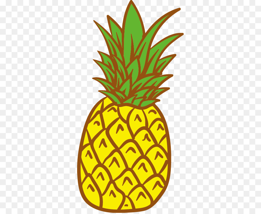 Ananas clipart png clip art free library Fruit Tree png download - 368*736 - Free Transparent Pineapple png ... clip art free library