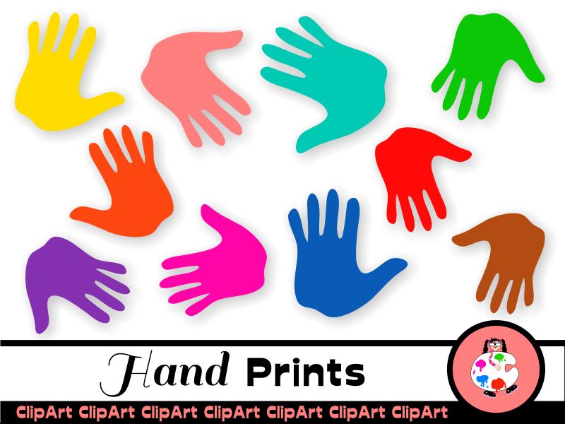 Anatomy clipart kids nail anatomy graphic transparent stock Free Kids Clip Art Hand Prints graphic transparent stock