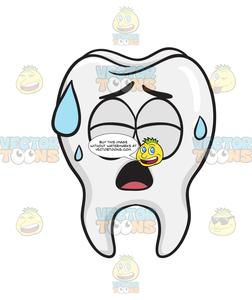 Anatomy clipart kids sweat clip freeuse download Tooth Sweating In Pain clip freeuse download