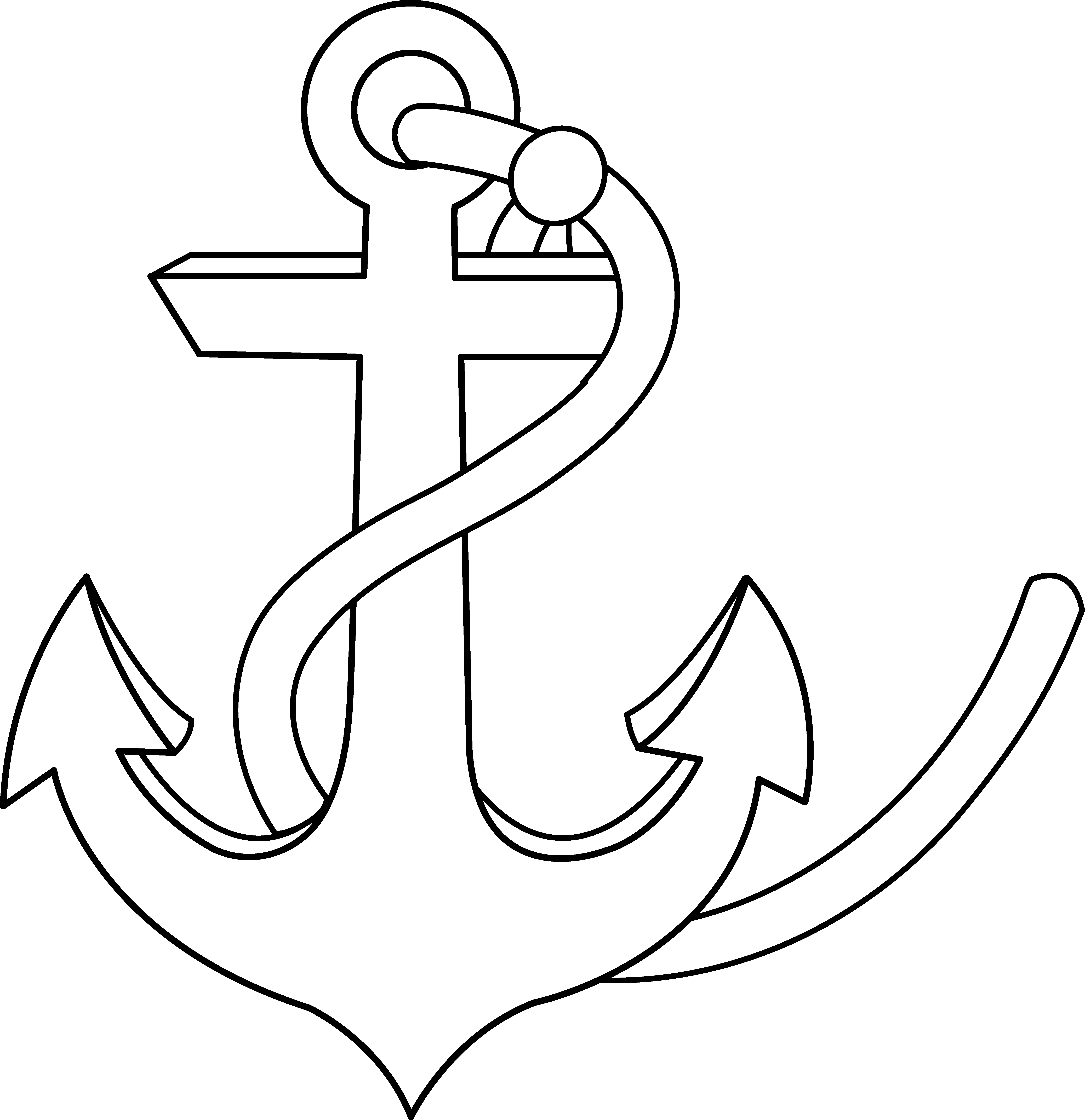 Anchor and fish clipart graphic freeuse stock Anchor Clipart | jokingart.com graphic freeuse stock
