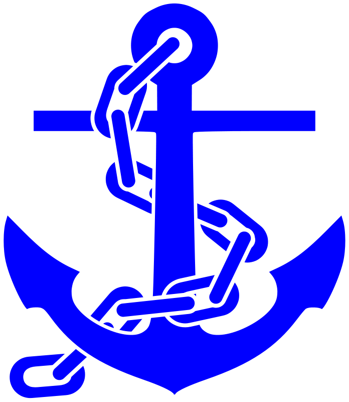 Crown and anchor clipart transparent stock Free Clipart: Fouled Anchor | Anchor | Pinterest | Anchor clip art ... transparent stock
