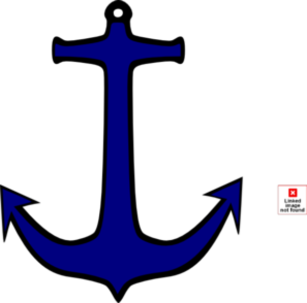 Anchor and fish clipart png freeuse Anchor | Free Images at Clker.com - vector clip art online, royalty ... png freeuse